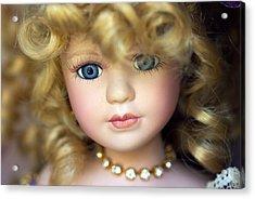 Porcelain Doll Acrylic Print by Joseph Skompski