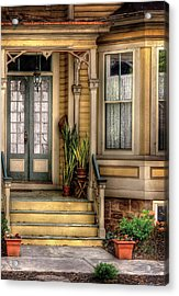 Porch - House 109 Acrylic Print by Mike Savad