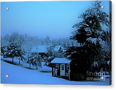 Porch Setting, Not Today Acrylic Print