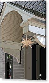Porch Star Acrylic Print by Bill Dussinger