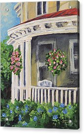 Porch Acrylic Print by Torrie Smiley