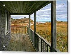 Porch View Acrylic Print