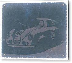 Porsche 356 Coupe Front Acrylic Print by Naxart Studio