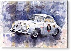 Porsche 356 Coupe Acrylic Print