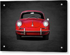 Porsche 356 Acrylic Print by Mark Rogan