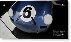 Porsche 6 Ball Acrylic Print by Curt Johnson