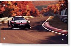 Porsche 911 Rsr, Nordschleife - 41 Acrylic Print