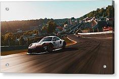 Porsche 911 Rsr, Spa-francorchamps - 33 Acrylic Print