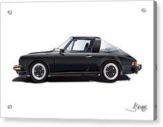 porsche 911 SC Targa Acrylic Print