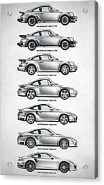 Porsche 911 Turbo Evolution Acrylic Print