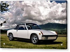 Porsche 914 Acrylic Print