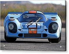 Porsche 917 Shorttail Acrylic Print