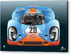 Porsche 917k Kurzneck Acrylic Print
