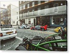 Porsche 918 Mclaren F1 Gtr Ferrari Specialea Ariel Nomad And Lancia Delta Integrale Acrylic Print