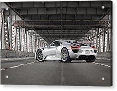 Porsche 918 Spyder Acrylic Print