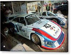 Porsche 935 Moby Dick Acrylic Print
