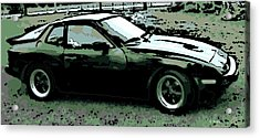 Porsche 944 On A Hot Afternoon Acrylic Print by George Pedro