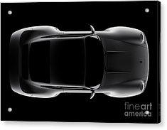 Porsche 959 - Top View Acrylic Print