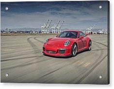 Porsche 991 Gt3 Acrylic Print