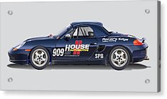 Porsche Boxster Racer Image Acrylic Print