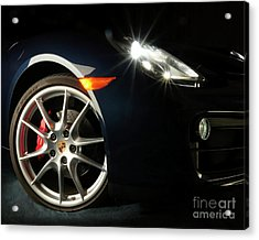 Porsche Cayman S Night Detail Acrylic Print