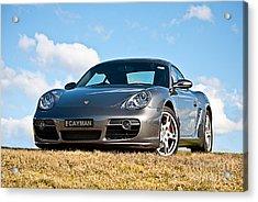 Porsche Cayman Acrylic Print