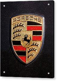 Porsche Emblem -211c Acrylic Print