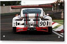Porsche Gt3, Martini Racing, Monza - 03 Acrylic Print