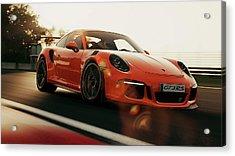Porsche Gt3 Rs - 4 Acrylic Print