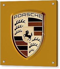 Porsche Oil Paint Filter 121615 Acrylic Print
