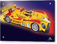 porsche RS Spyder Acrylic Print