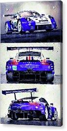Porsche Rsr Le Mans 2018 - 02 Acrylic Print
