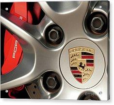 Porsche Wheel Detail #1 Acrylic Print