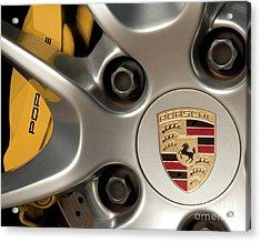 Porsche Wheel Detail #2 Acrylic Print