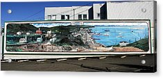 Port Angeles 1914 Mural Acrylic Print by David Lee Thompson