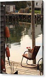 Port Clyde Life Acrylic Print