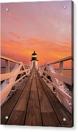 Acrylic Print featuring the photograph Port Clyde Maine - Marshall Point by Expressive Landscapes Fine Art Photography by Thom