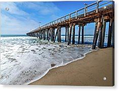 Port Hueneme Fishing Pier Acrylic Print