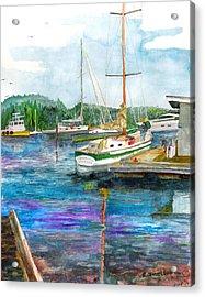 Port Mcneil Bc Acrylic Print