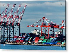Port Newark Container Terminal Acrylic Print