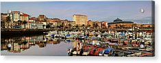 Acrylic Print featuring the photograph Port Of Ferrol Galicia Spain by Pablo Avanzini
