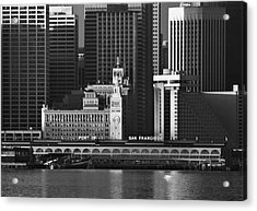 Port Of San Francisco Acrylic Print