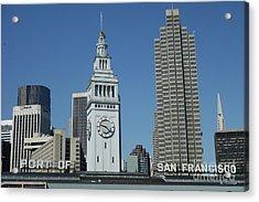 Port Of San Francisco Acrylic Print