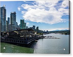 Acrylic Print featuring the photograph Port Of Vancouver by Ed Clark
