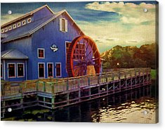 Port Orleans Riverside Acrylic Print by Lourry Legarde