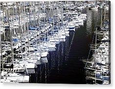 Port Parking Acrylic Print by John Rizzuto