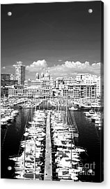 Port Parking Only Acrylic Print by John Rizzuto