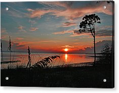 Port St Joe Sunset Acrylic Print