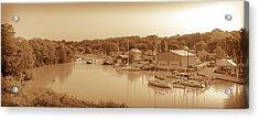 Port Stanley Waterway Acrylic Print