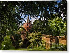 Port Sunlight Village In Summer Acrylic Print